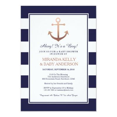 Nautical Invitations, nautical invite