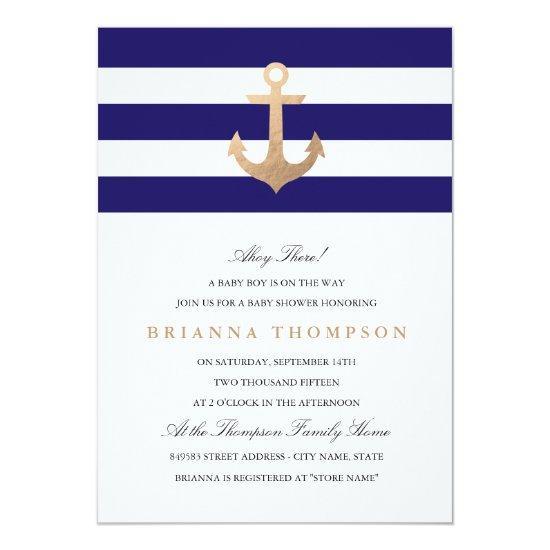 Nautical Navy