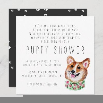 New Puppy   Puppy Shower Invitation