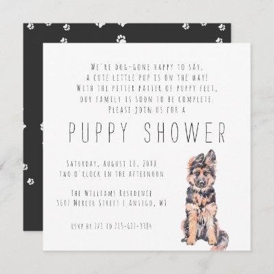 New Puppy | Puppy Shower Invitation