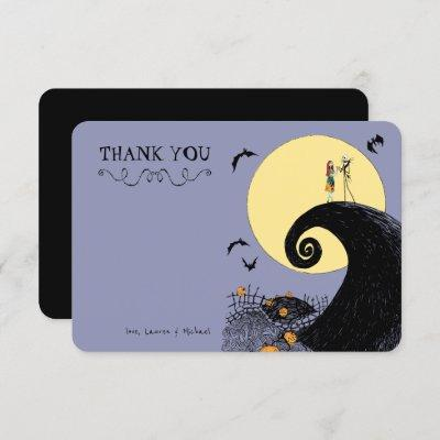 Nightmare Before Christmas Baby Shower Thank You Invitation