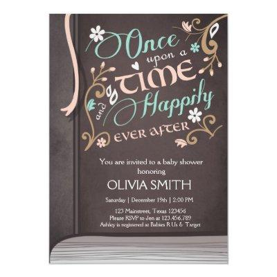 Once Upon a Time Storybook