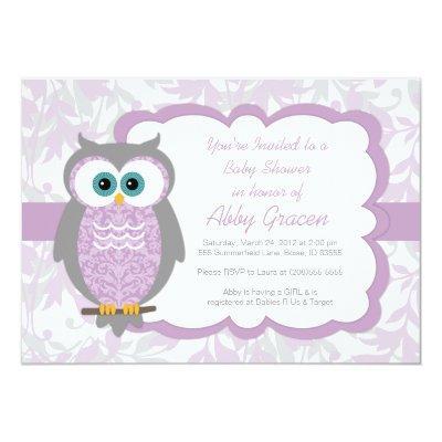 Owl  for Girls, Purple - 730