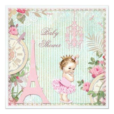 Paris Princess in Tutu Shabby Chic