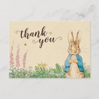 Peter Rabbit | Boy Baby Shower Thank You
