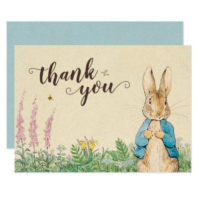 Peter Rabbit | Boy Baby Shower Thank You Invitations