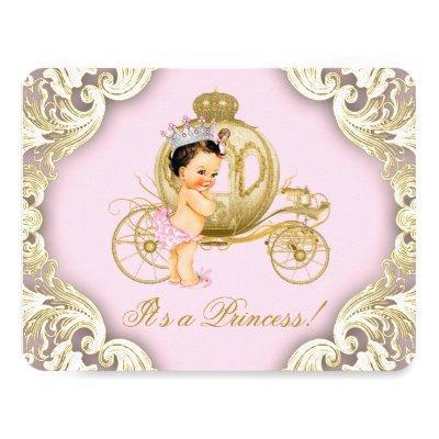 Pink and Gold Carriage Royal Princess