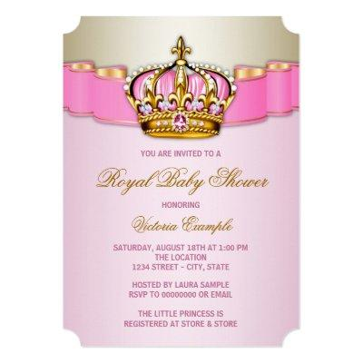 Queen Baby Shower Invitations Baby Shower Invitations