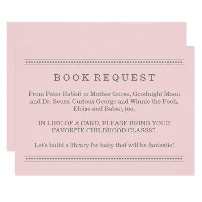 Pink Book Request | Enclosure Invitations