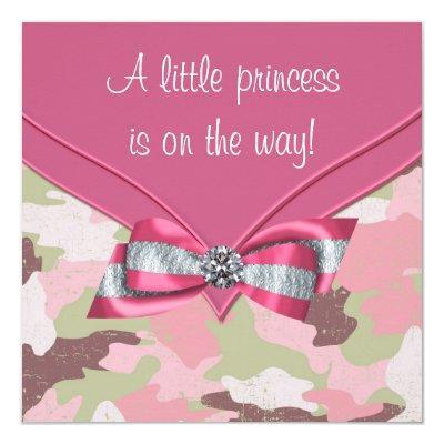 Pink Camouflage Princess