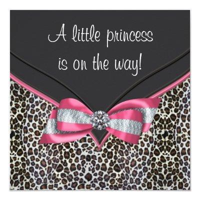 Pink Leopard Princess