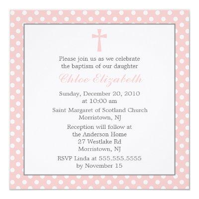 iZ0aDct25polka_dots_baptism_invitations r68f72cb6bee14d8e93f6604d5b9db2a9_zk9g1_400 religious baby shower invitations baby shower invitations,Religious Baby Shower Invitations