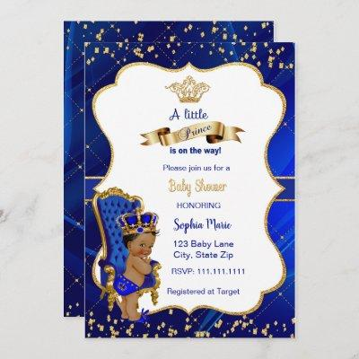 Prince Baby Shower Invitation Baby Boy Shower