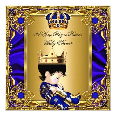 Baby Shower Boy Prince Royal Baby Shower Invitations Baby Shower