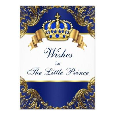 prince wishes for baby invitations