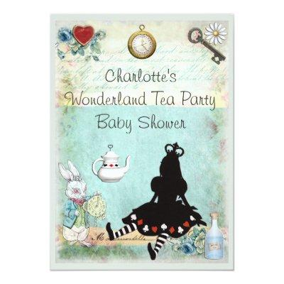 Princess Alice in Wonderland Tea Party