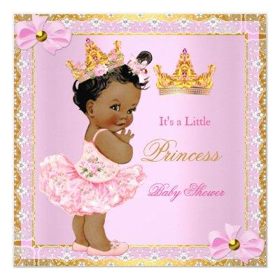 ethnic african american baby shower baby shower invitations | baby, Baby shower invitations