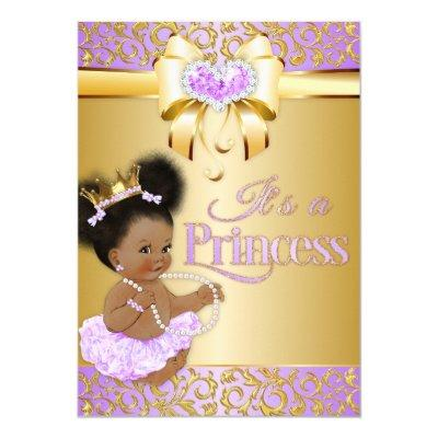 lavender princess baby shower baby shower invitations | baby, Baby shower invitations