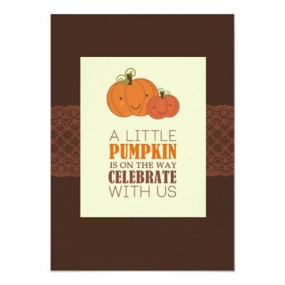 Pumpkin Invitations