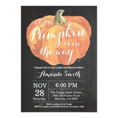 Pumpkin Fall  Chalkboard