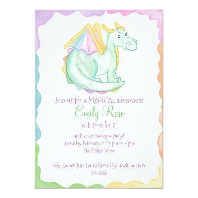 Dragons Baby Shower Invitations Baby Shower Invitations