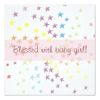 Blessed Baby Shower Invitations Baby Shower Invitations