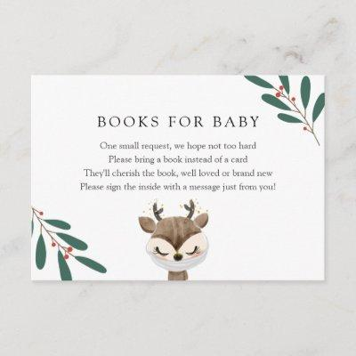 Reindeer in Mask Books for Baby insert card