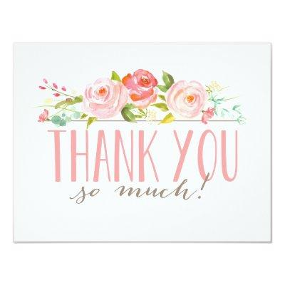 Rose Garden | Thank You Invitations