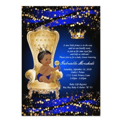 Royal Blue Baby Shower,