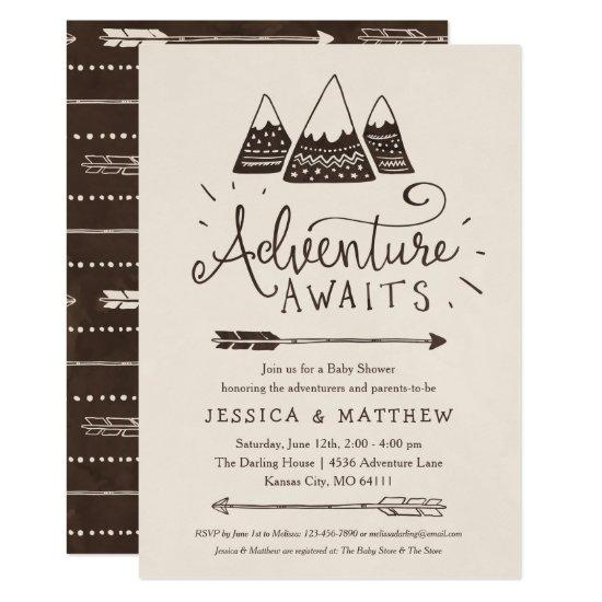 "Rustic ""Adventure Awaits"""