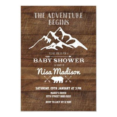 adventure baby shower baby shower invitations | baby shower,