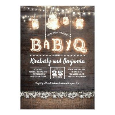Rustic Country BaByQ Couples