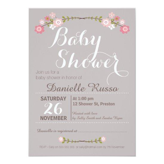 sweetest summer baby shower invitation – frenchkitten, Baby shower invitations