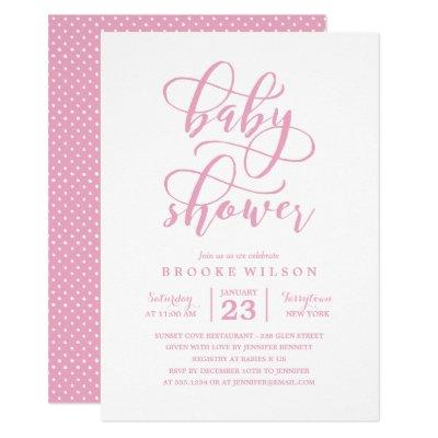 Simple Baby Shower Invitations Baby Shower Invitations