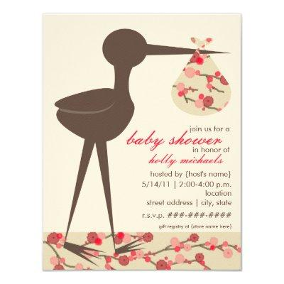 Sophisticated Stork Cherry Blossom