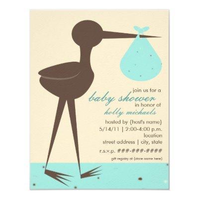 Sophisticated Stork Robin's Egg Blue