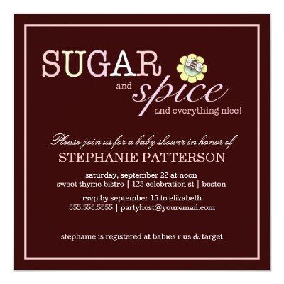 Sugar & Spice It's a Girl