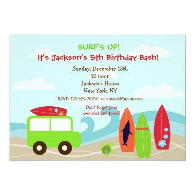 Pool Party Birthday Invitations Baby Shower