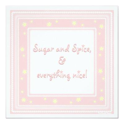 Sweet Pink Sugar & Spice