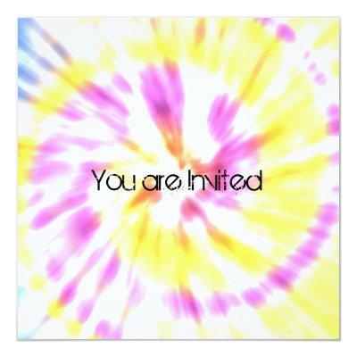 Tie dye baby shower invitations baby shower invitations tie dye baby shower invites filmwisefo