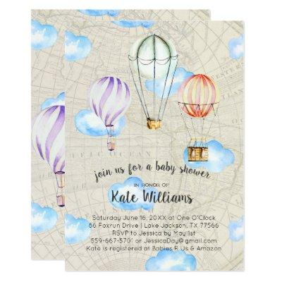 Travel baby shower baby shower invitations baby shower invitations travel themed filmwisefo