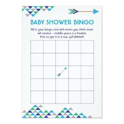 boys arrow baby shower invitations baby shower invitations | baby, Baby shower invitations