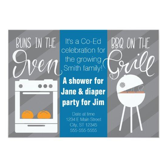 Twin Baby ShowerDiaper Party Invitations Baby Shower Invitations