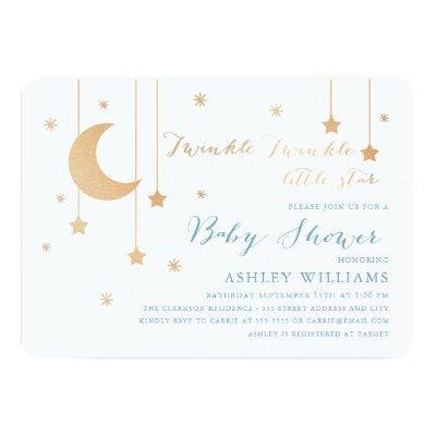Twinkle Twinkle Baby Shower Invitation