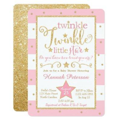Twinkle twinkle little star baby shower invitations baby shower twinkle twinkle little star baby shower invitation filmwisefo