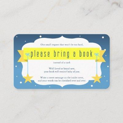 Twinkle Twinkle Little Star Book Request Card