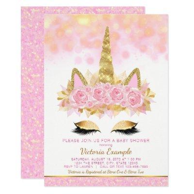Unicorn  Pink Gold Unicorn