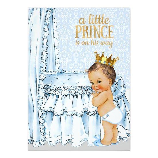 Vintage baby boy prince baby shower invitations vintage baby boy prince filmwisefo