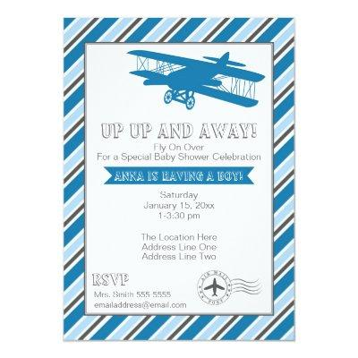 fly baby shower invitations | baby shower invitations, Baby shower invitations