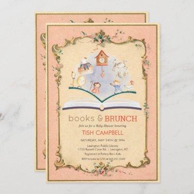 Vintage Storybook Baby Shower Invitation
